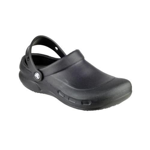 Crocs Bistro Mens Occupational Footwear Black